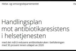 Handlingsplan mot antibiotikaresistens i helsetjenesten